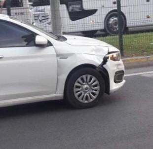 Otomobilin Çarptigi Yaya Yaralandi