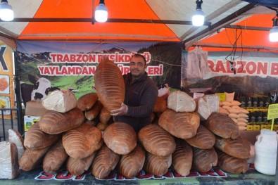 (ÖZEL) 8 Kiloluk Dev Ekmek Görenleri Saskina Çevirdi