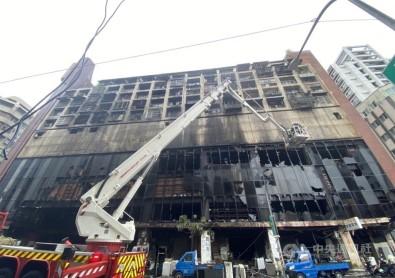 Tayvan'daki Yangin Faciasinda Can Kaybi 46'Ya Yükseldi