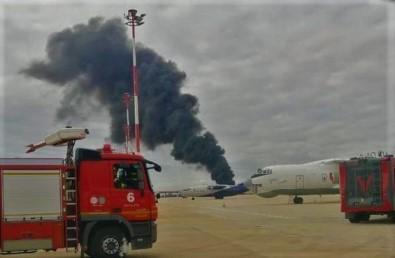 Tekirdag'da Uçak Kazasi Tatbikati