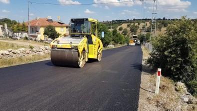 Yozgat'ta 32 Kilometrelik Köy Yolu BSK Asfalt Ile Kaplandi