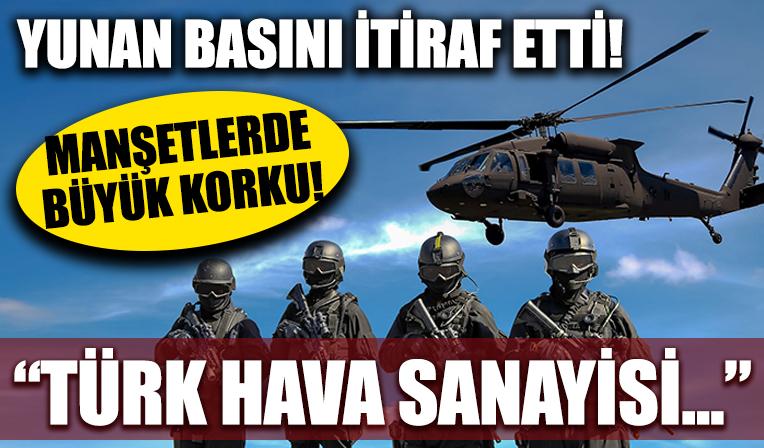 Yunan basını sonunda itiraf etti! Manşetlerde büyük korku