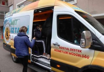 Yürüme Güçlügü Yasayan Vatandasin Yardimina Engelsiz Taksi Yetisti