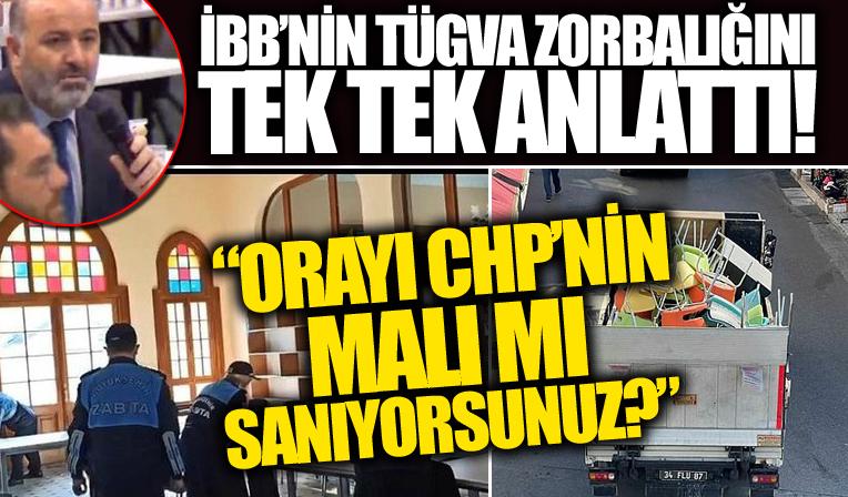 AK Partili Kaynar, CHP'li İBB'nin TÜGVA'ya karşı yaptığı hukuksuzluğu anlattı