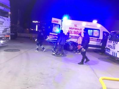 Ankara'da Benzinlik Istasyonunda Biçakli Saldiri Açiklamasi 1'I Polis 2 Yarali