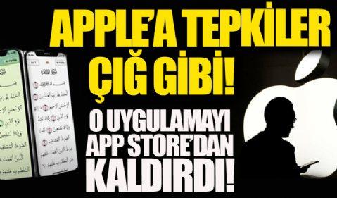 Apple popüler Kur'an-ı Kerim uygulamasını App Store'dan kaldırdı