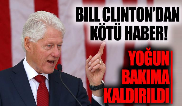Bill Clinton, hastanede tedavi altına alındı