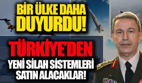 Bir ülke daha duyurdu! Polonya, Türkiye'den yeni silah sistemleri alacak