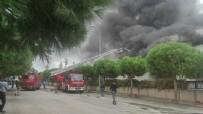 Organize sanayi bölgesinde yangın!
