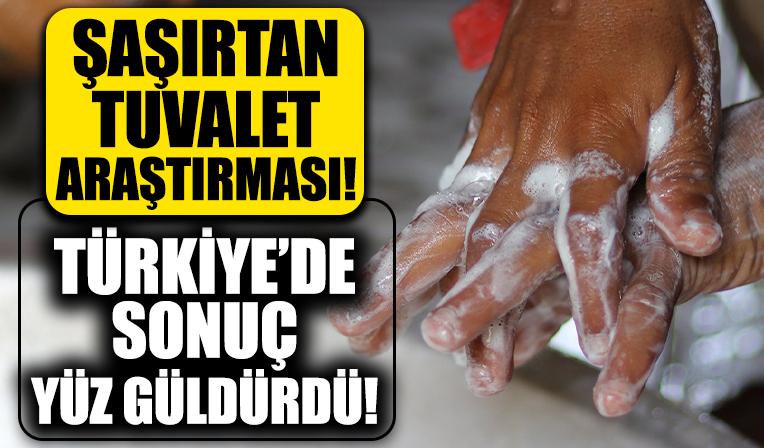 Şaşırtan tuvalet araştırması! Türkiye'de sonuç yüz güldürdü!
