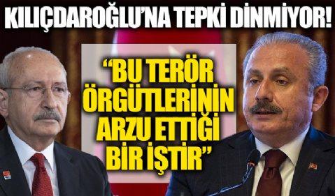 Şentop'tan 'siyasi cinayet' çıkışı yapan Kılıçdaroğlu'na: Bu terör örgütlerinin arzu ettiği bir iştir