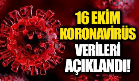 16 Ekim 2021 corona virüs tablosu: 212 can kaybı, 28 bin 537 yeni vaka