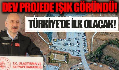 Ankara İzmir YHT projesindeki Türkiye'nin en geniş TBM tünelinde ışık göründü: Türkiye'de ilk olacak