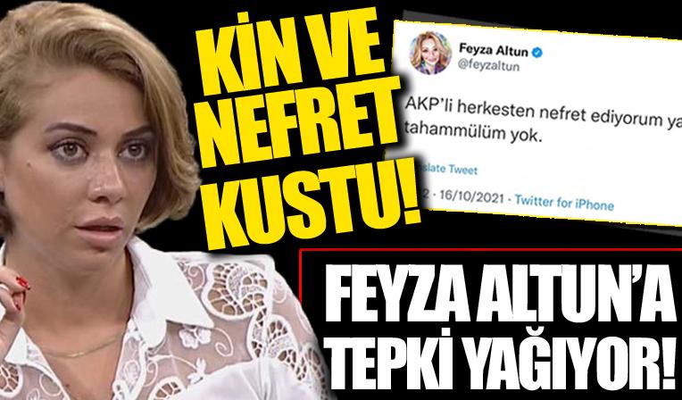 CHP'li Feyza Altun: AK Partili herkesten nefret ediyorum