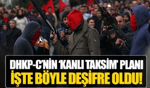 DHKP-C'nin kanlı planları bir bir deşifre oldu: Savcı ve polisleri rehin alıp Taksim Meydanı'na götüreceklerdi