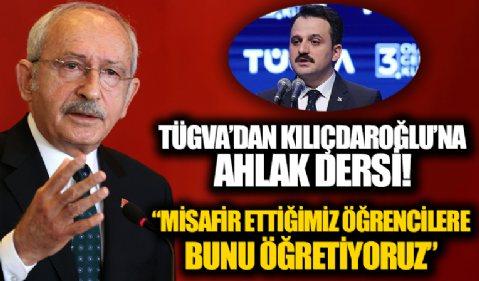"""Kılıçdaroğlu TÜGVA için """"lağım"""" dedi, TÜGVA'dan cevap gecikmedi: """"Terbiyesizliktir"""""""