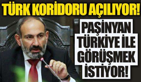 Paşinyan'dan 'Türk koridoru'na destek