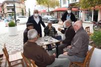 Baskan Çaliskan, Kandil Lokumu Dagitti