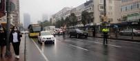 Besiktas'ta Milyonluk Kaza Açiklamasi 4 Araç Birbirine Girdi