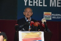 CHP Genel Baskani Kiliçdaroglu, Marmaris'te Gazetecilerle Bulustu