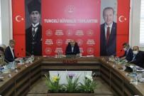 Içisleri Bakani Süleyman Soylu, Tunceli'de Güvenlik Toplantisina Katildi