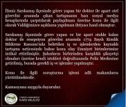 Kars Valiliginden Sarikamis'taki Apartta Yasanan 'Kimlik Göstermeme' Olayina Iliskin Açiklama Haberi
