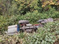 Manisa'da Traktör Takla Atti Açiklamasi 1 Ölü, 1 Yarali Haberi