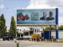 Nijerya'da Cumhurbaşkanı Erdoğan afişleri Haberi