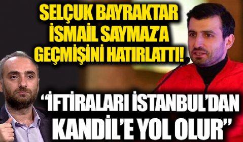 Selçuk Bayraktar'dan T3 Vakfı'nı hedef alan İsmail Saymaz'a tepki: İftiraları yan yana koyulsa İstanbul'dan Kandil'e yol olur