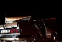 Traktör Ile Otomobil Çarpisti Açiklamasi 5 Yarali