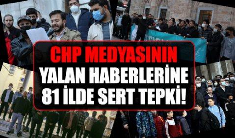 TÜGVA'dan 81 ilde sosyal medya ve CHP medyasının yalan haberlerine sert tepki!