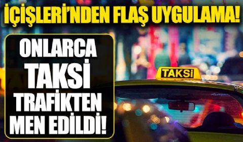 Türkiye genelinde 23 bin personelle uygulama! 12 bin 139 ticari taksiden 73'ü trafikten men edildi
