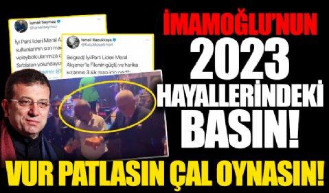 Al sana tarafsız basın! Ekrem İmamoğlu gazetecileri toplayıp Diyarbakır'a götürdü! Ertuğrul Özkök İsmail Saymaz halay çekti