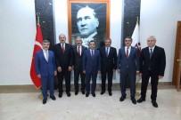 Anayasa Mahkemesi Baskani Arslan, Vali Ayyildiz Ve Bassavci Ircal'i Ziyaret Etti