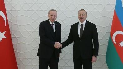 Erdoğan'dan Azerbaycan'a kutlama mesajı!