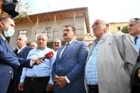 Baskan Gürkan, Alt Ve Üst Yapi Çalismalarini Inceledi