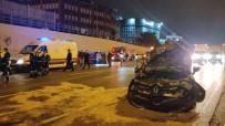 Bayrampasa'da Otomobilin Çarptigi Sebze Yüklü Kamyon Devrildi Açiklamasi 2 Yarali Haberi