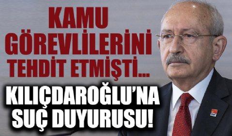 Cumhurbaşkanı Yardımcısı Fuat Oktay'dan Kılıçdaroğlu'nun kamu görevlilerini hedef alan sözlerine suç duyurusu