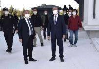 Emniyet Genel Müdürü Aktas Yazir Polis Karakolunu Inceledi