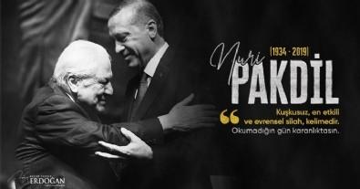 Erdoğan'dan Nuri Pakdil paylaşımı!