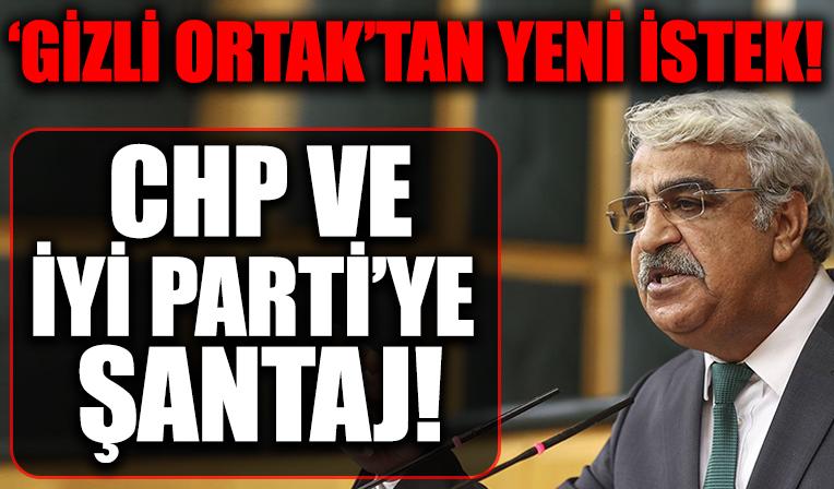 HDP'den, CHP ve İYİ Parti'ye tezkere şantajı
