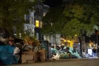 İngiltere'de temizlik işçilerinin grevi, çöp yığınlarına yol açtı