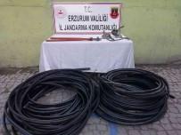 Kablo Hirsizlari Jandarmadan Kaçamadi