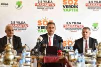 Mamak Belediye Baskani Köse Açiklamasi 'Söz Verdik Daha Fazlasini Yaptik'