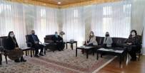 Rektör Çomakli, ABD Ankara Büyükelçiligi Yetkililerini Agirladi