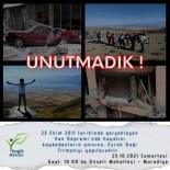 Van Depreminde Hayatini Kaybedenler Anisina Esrük Dagi'na Tirmanis