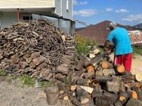 Vatandaslarin Kislik Odun Hazirliklari Sürüyor
