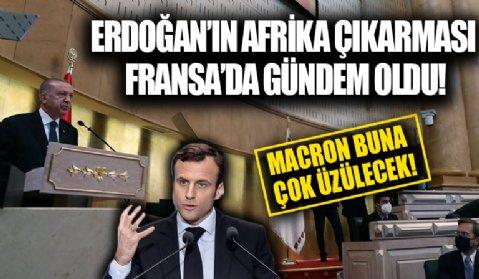 Başkan Erdoğan'ın Afrika ziyareti Fransız basınında geniş yankı uyandırdı! Türk SİHA'larına övgü dolu sözler