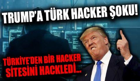 'Türkiye'den bir hacker, Trump'ın sitesinin bir bölümünü hackledi'