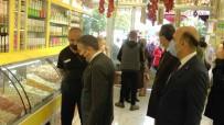 Valisi Atay, Alisveris Yaparak Pazar Fiyatlarini Inceledi